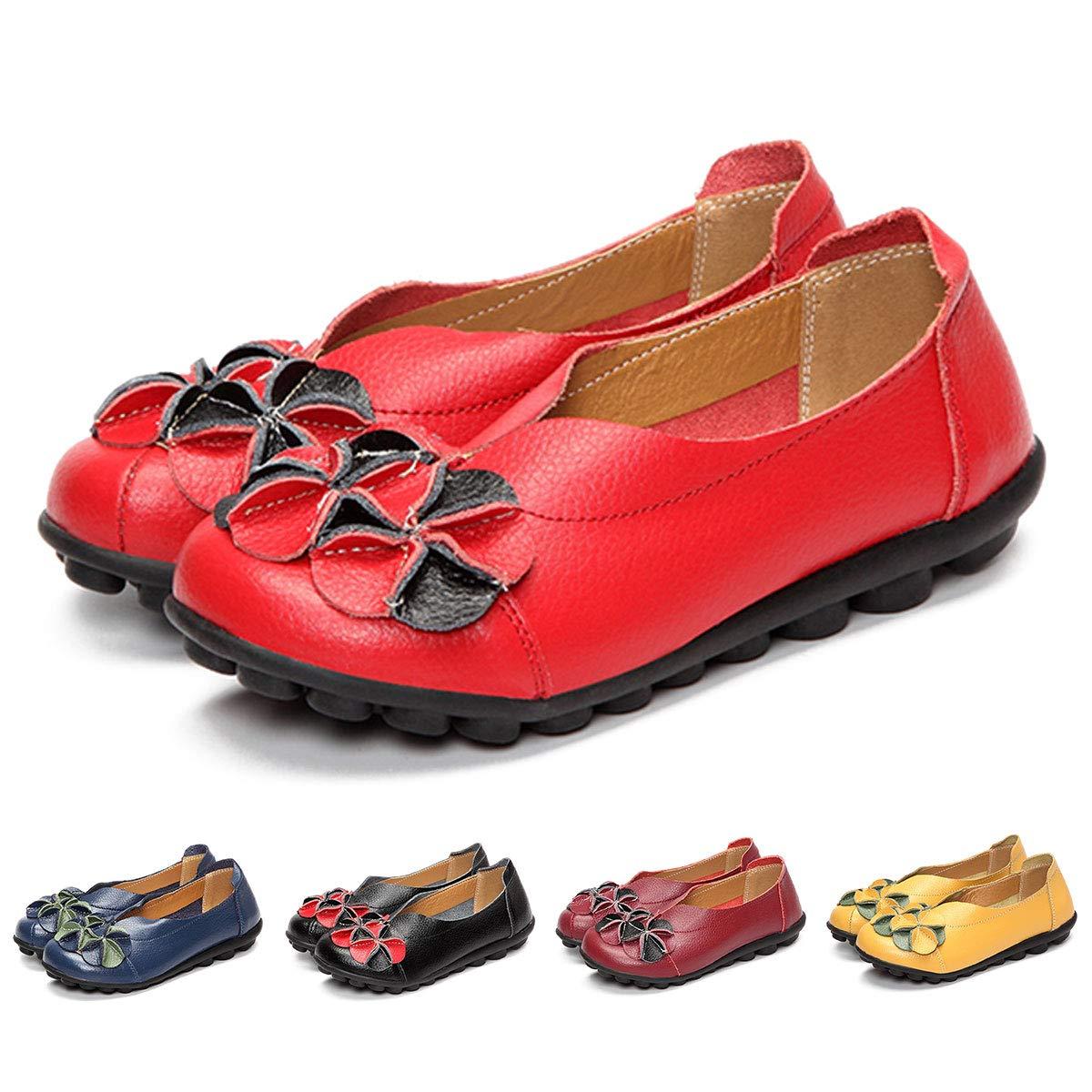 2cfb22b201f6 gracosy Women Loafer Flats