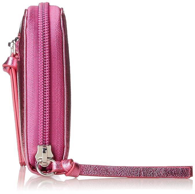 9c5427de7d7e Tamaris Debra Big Zip Around Wallet, Women's Pink, 2x10x19.5 cm (B x ...