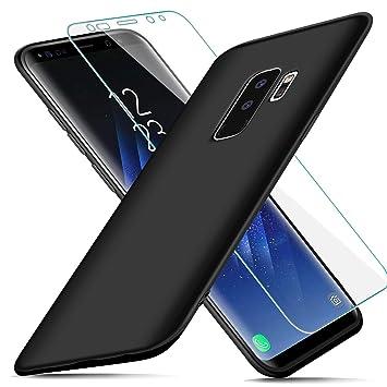 AROYI Funda Samsung Galaxy S9 Plus + Protector de Pantalla ...