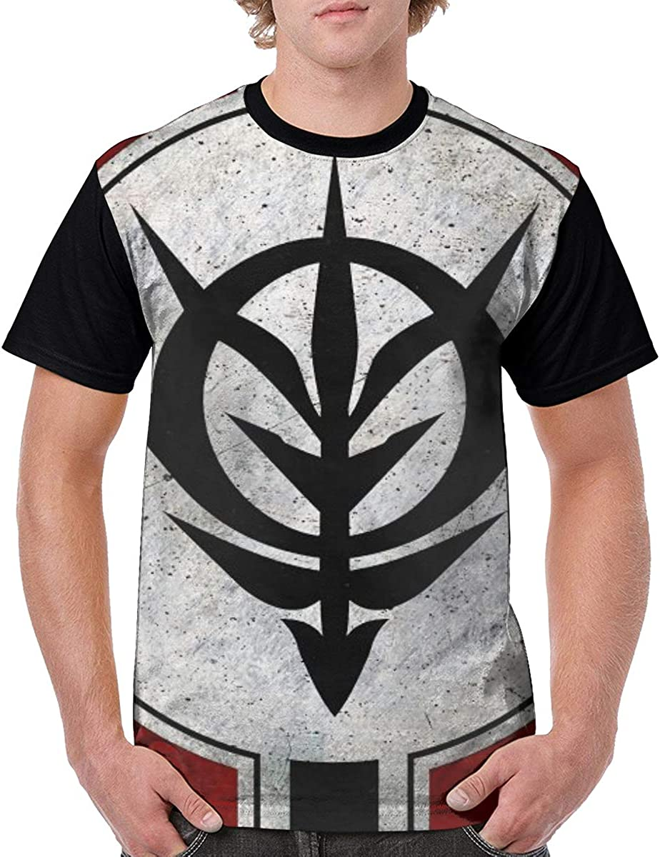 Fubotevic Mens Plus Size Quick Drying Short-Sleeve Printed Breathable T-Shirt Tee