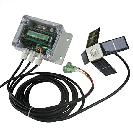 ECO LLC 12V 24V Dual Axis Solar Tracking Controller for Solar Panel Sun Tracker US Ship