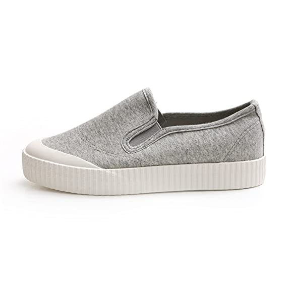 Amazon.com | Women Shoes Spring Female Canvas Shoes Gray Shoes Tenis Feminino Zapatillas Mujer Casual | Flats