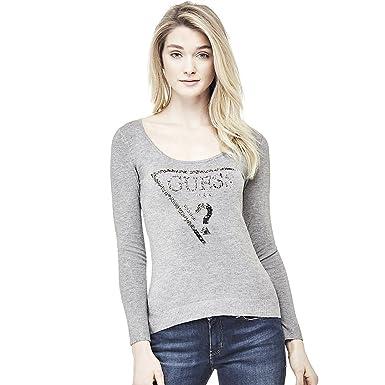 ecded516d325 Guess Pull - W72R49Z0DJ0 - FEMME - M  Amazon.fr  Vêtements et ...