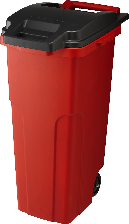 リス 『キャスター付ごみ箱』 キャスターペール 70C2 70L 2輪 レッド B007290RGO 70L レッド レッド 70L