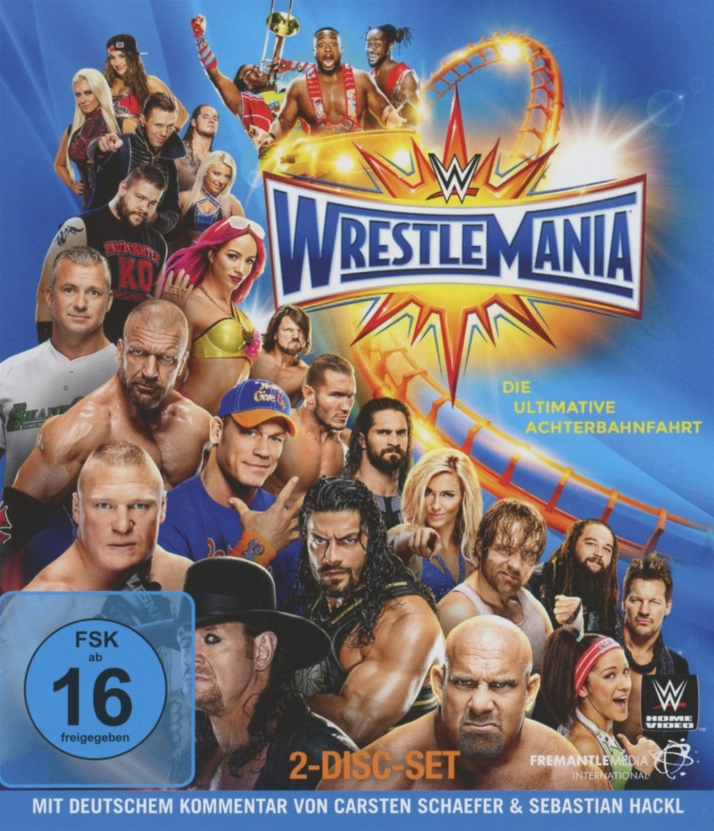 Wrestlemania 33 [Blu-ray]: Amazon.de: DVD & Blu-ray