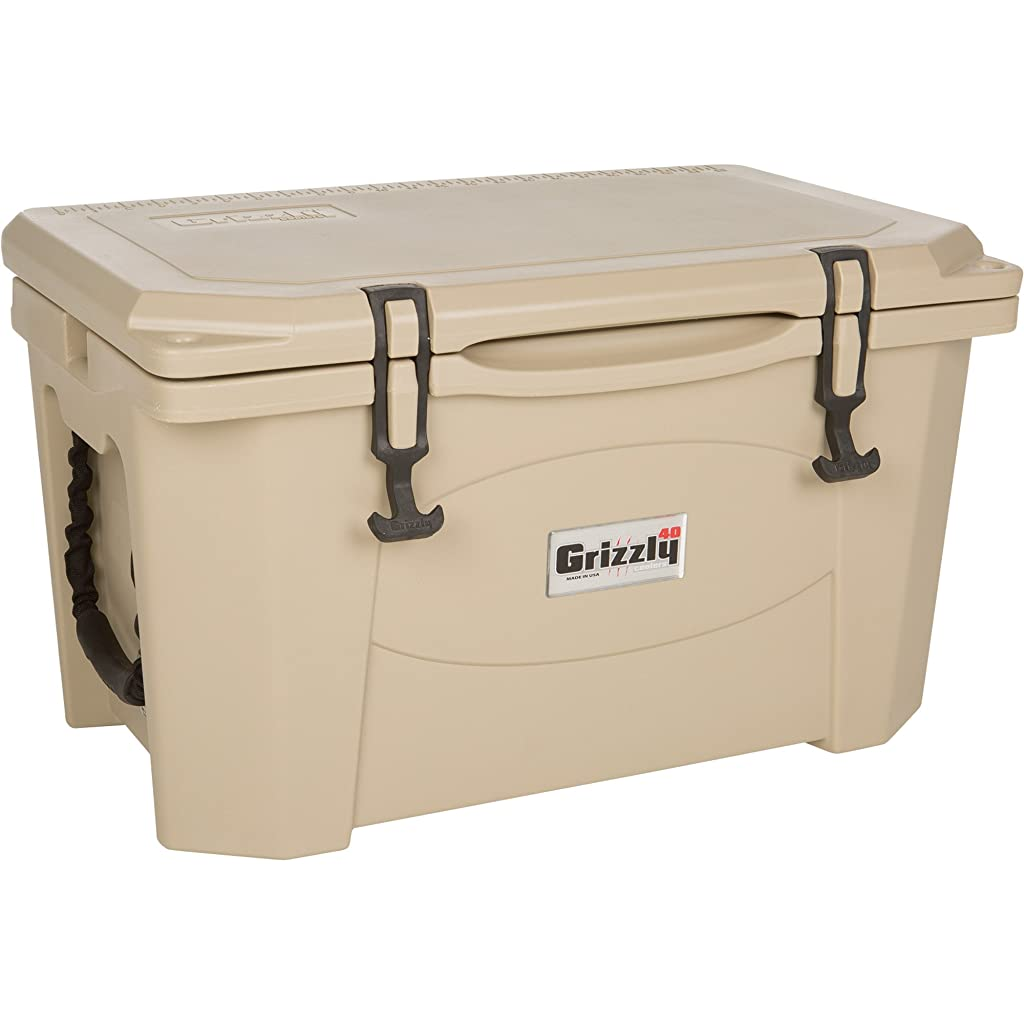 Grizzly 40 quart Tan/Cooler