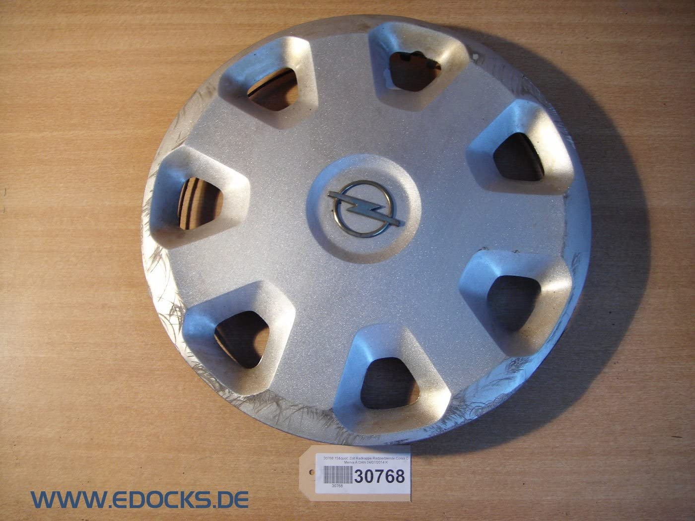 15 Zoll Radkappe Radzierblende Corsa C Meriva A Opel Auto