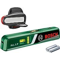 Bosch laser waterpas PLL 1 P (werkbereik lijnlaser 5 m, werkbereik puntlaser 20 m, in doos)
