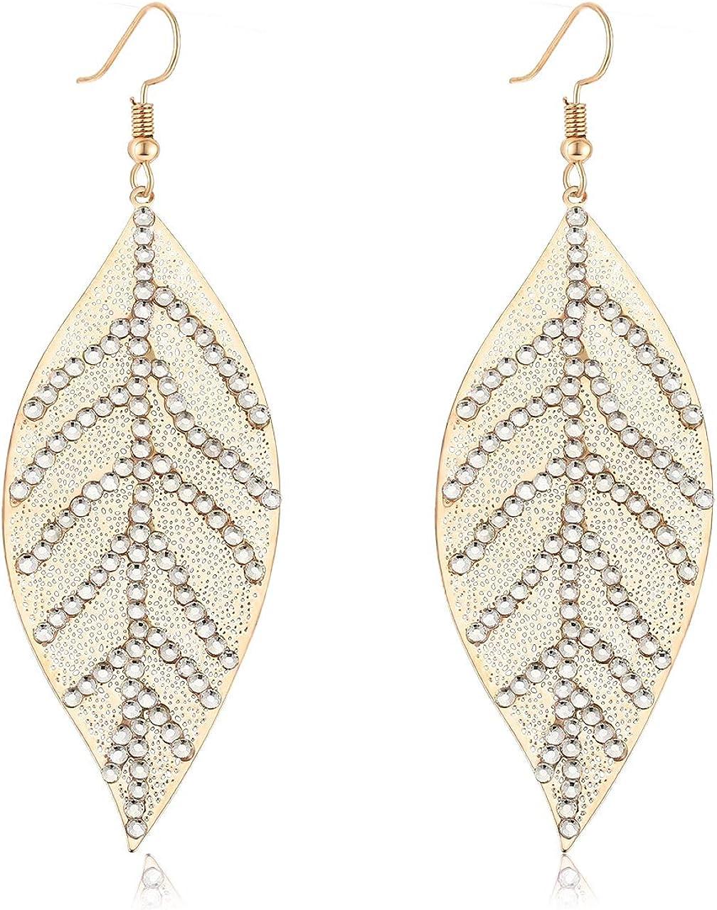 Copper Drop Earrings Dangle Ear studs Charm Pendant Creative Girls Jewelry