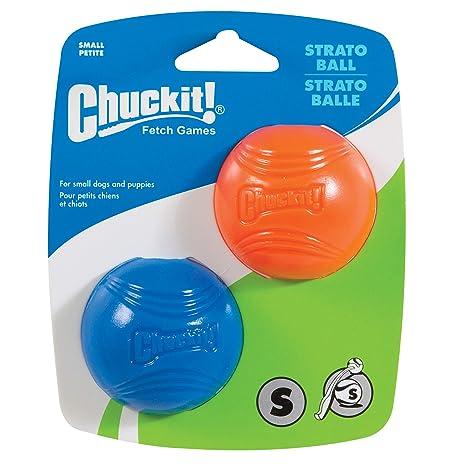 Chuckit! Pack de 2 Pelotas pequeñas Strato, de la Marca: Amazon.es ...
