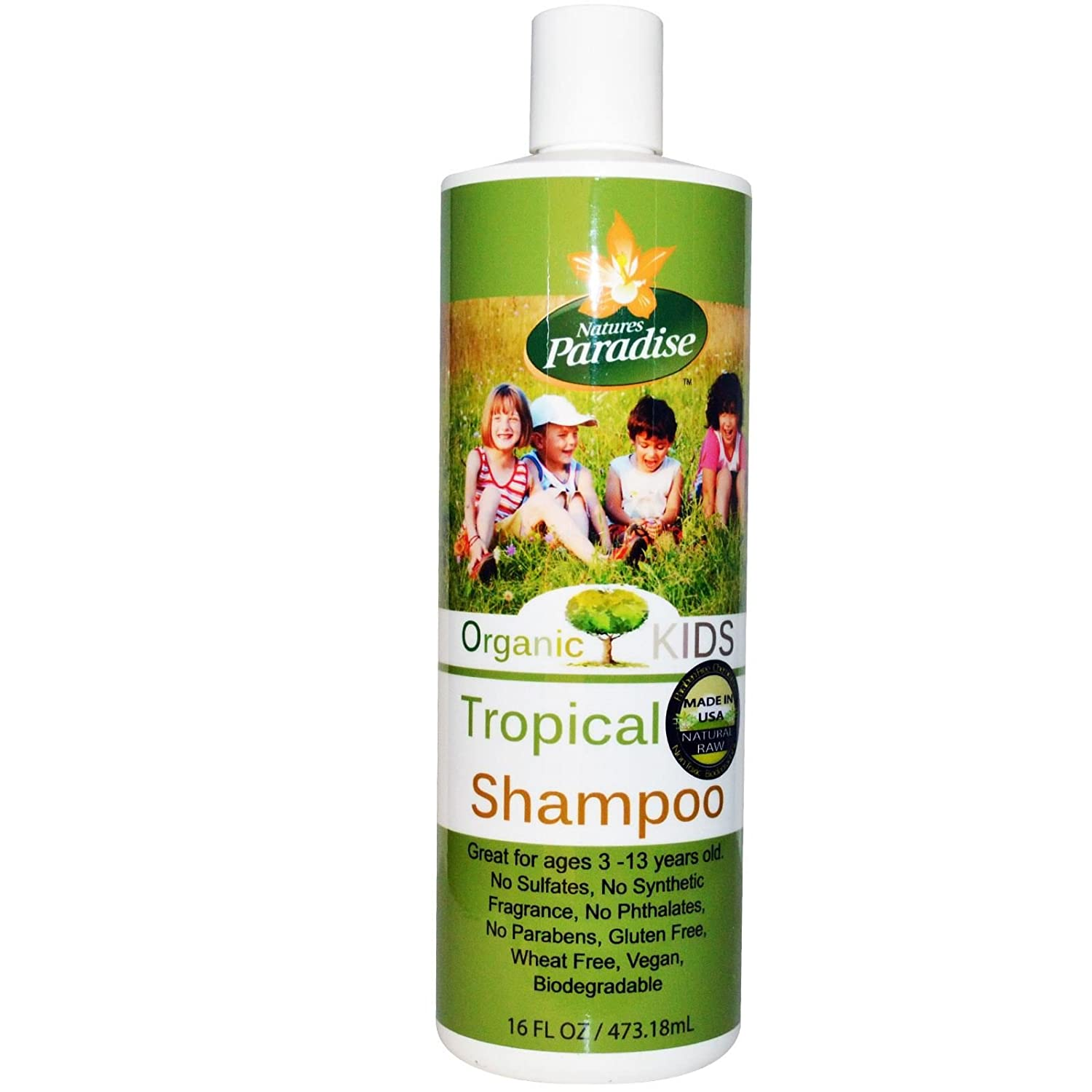 Shampoo Tropical Kids By Natures Paradise by Natures Paradise ...