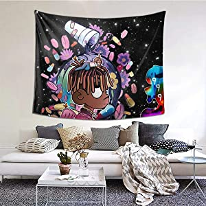 Peliny Chrid Jui-ce Wr-ld Tapestry Wall Hanging Soft Tapestries Home Decorations For Living Room Bedroom Dorm Decor 60x51 Inches