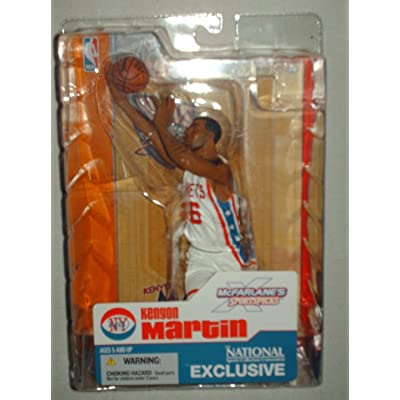 Kenyon Martin - McFarlane - The National Exclusive Figure by McFarlane Toyhs: Toys & Games