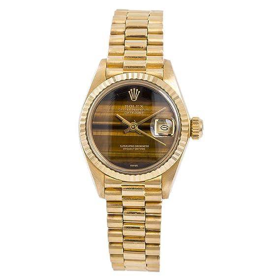 34e8edd5b69 Rolex Datejust Automatic-Self-Wind 6917 - Reloj de Pulsera para Mujer: Rolex:  Amazon.es: Relojes