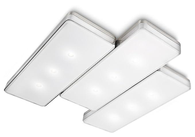 Plafoniere Quadrate Philips : Philips instyle lampada da soffitto amazon