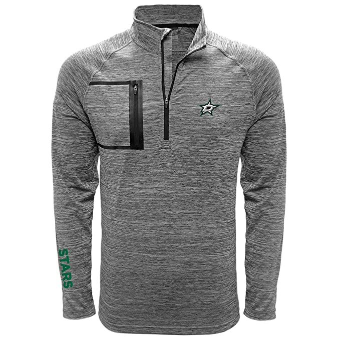 Amazon.com: NHL Vault Wordmark Quarter Zip Mid-Layer: Clothing