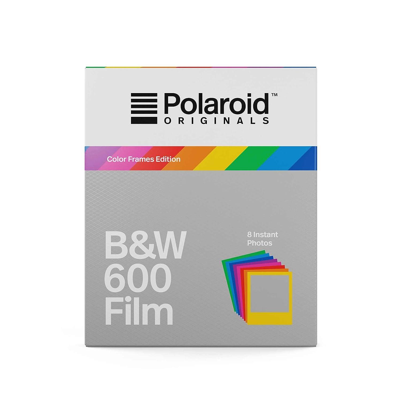 Polaroid Originals Instant Film B&W for 600 Hard Color Frames, Multicolor (4673) Impossible