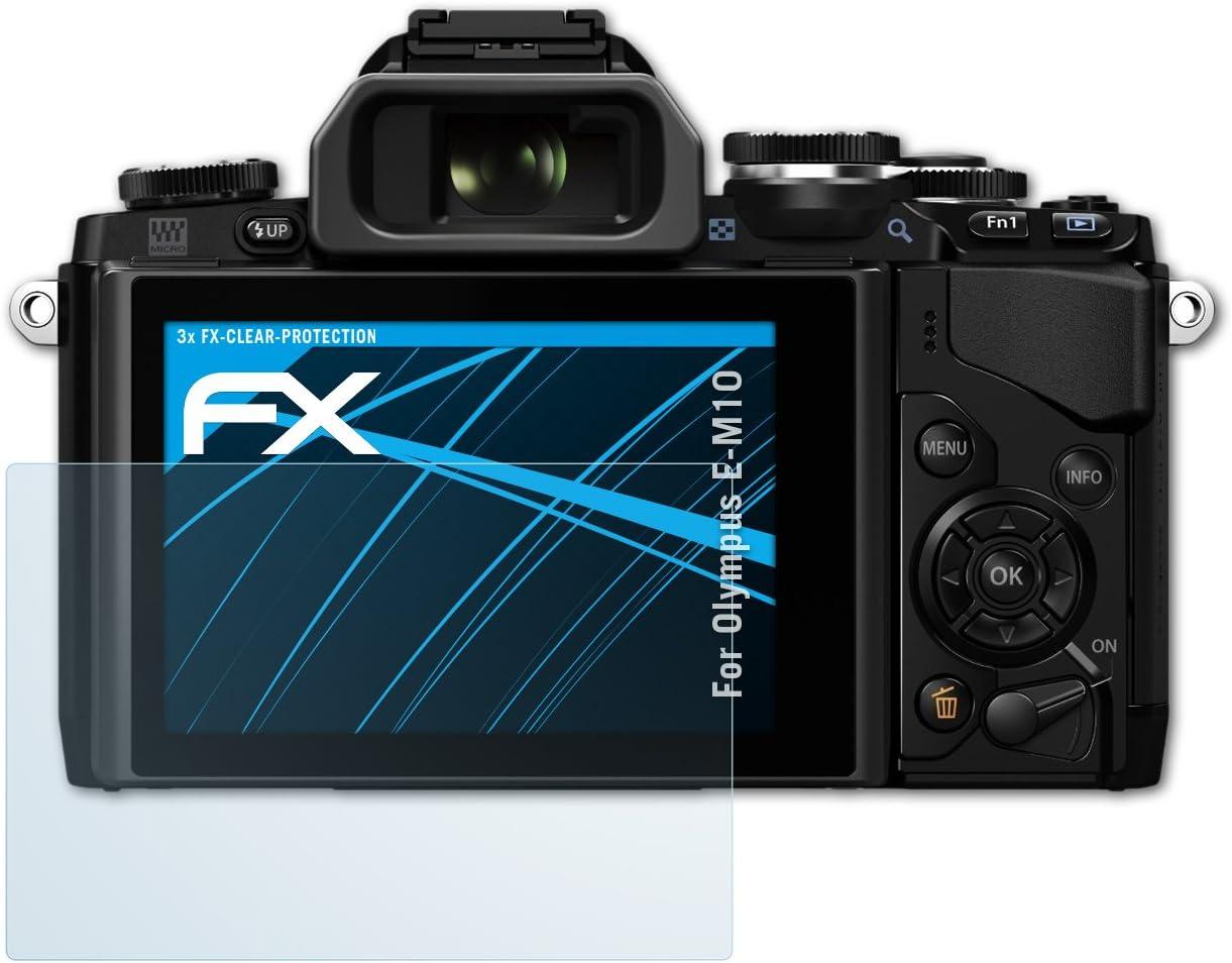Atfolix Schutzfolie Kompatibel Mit Olympus E M10 Folie Kamera