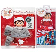 The Elf on the Shelf Claus Couture Collection Bundle: Classy Capelet Set and Twirling in the snow skirts for girl scout elf.