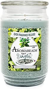 Aromabeads Eucalyptus Mint Scented Candle