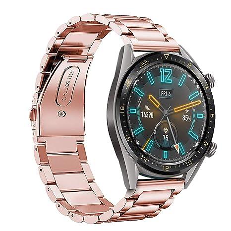 KuGi para Huawei Watch GT Active Correa Reloj de, Correa ...