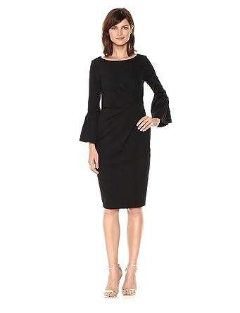 Adrianna Papell Dress Women's Crepe Sheath Knit At Amazon n0N8mw