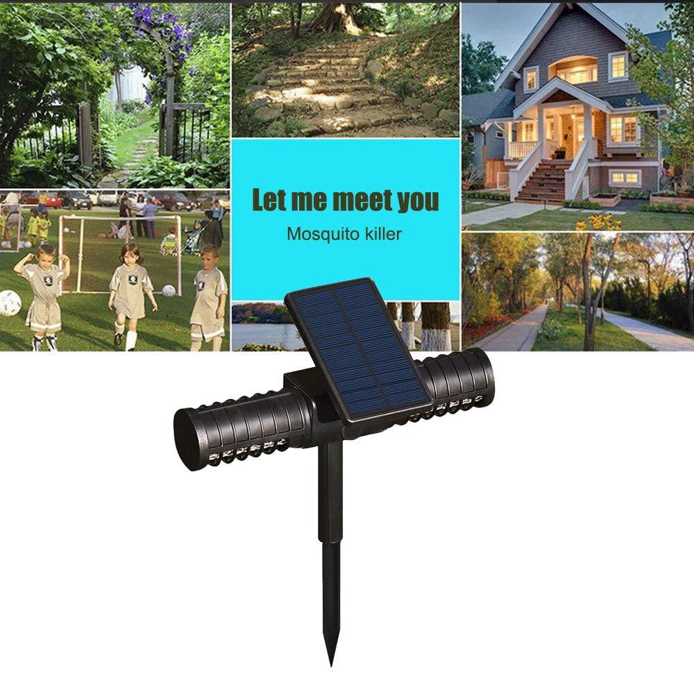 Shanglite Outdoor Solar Insect Killer Light Waterproof Garden Lamp Villa Outdoor Camping Carry Mosquito Repellent Lawn Insertion Light by Shanglite (Image #6)