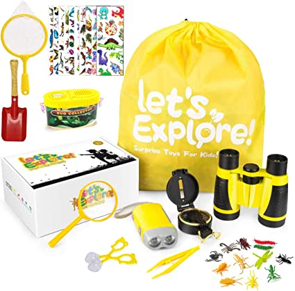 Gifts Toys for 3-10 Years Old Boys Girls Adventure Outdoor Explorer Kit for Kid