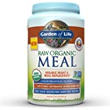 Garden of Life Meal Replacement - Organic Raw Plant Based Protein Powder, Vanilla Chai, Vegan, Gluten-Free, 32.1oz (907g) Powder