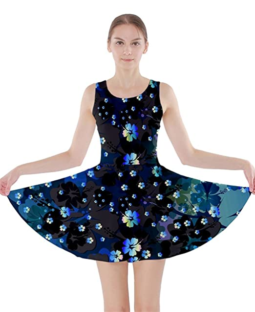 CowCow Vestido - para mujer Azul Blue Hawaii XXX-Large