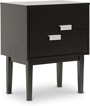 Baxton Studio Redgrave Modern Nightstand/End Table