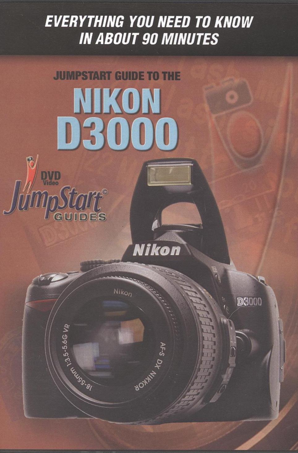 Amazon. Com: nikon d3000 advanced instructional dvd by quickpro.