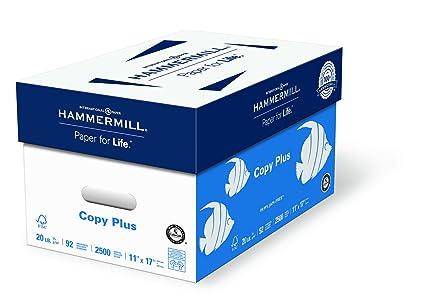 Amazon hammermill paper copy plus paper 11 x 17 paper hammermill paper copy plus paper 11 x 17 paper ledger size 20lb wajeb Choice Image