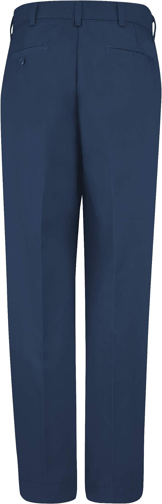Amazon Com Red Kap Men S Stain Resistant Flat Front Work Pants Clothing