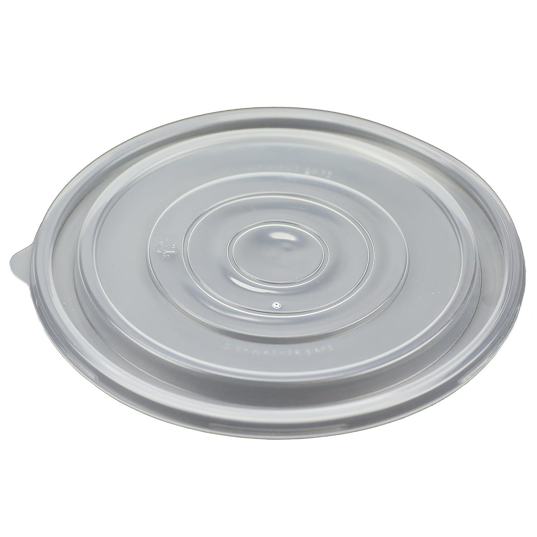 Simplemente ofrecer 9-inch redondo plástico tapa para llevar ...