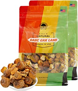 DOL Natural Wild Dried Almond Mushroom Agaricus Blazei ??? Food additives Free - in Bag (16 Ounce)