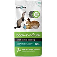 Back-2-Nature Recycled Paper Small Animal Bedding and Litter, 30L