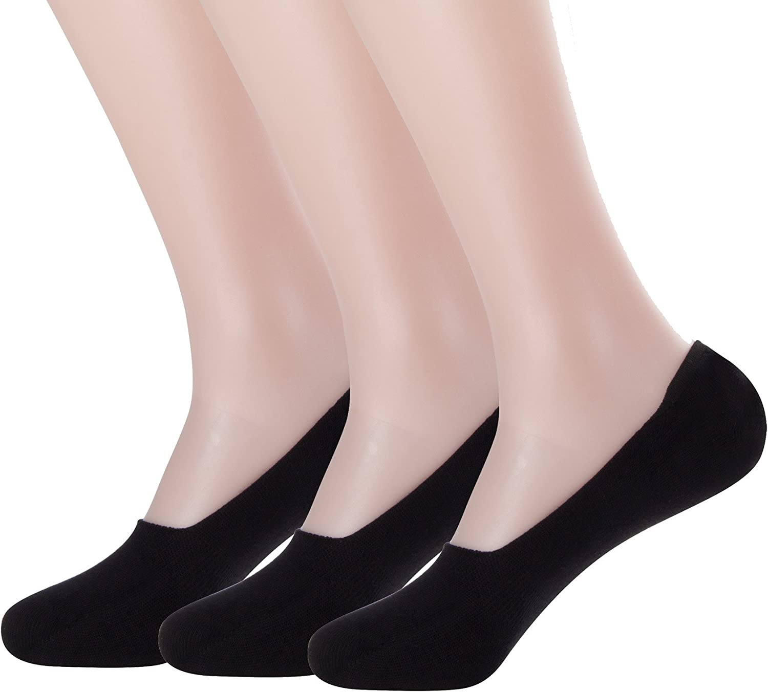 Lots 3-12 Pairs Mens Invisible No Show Cotton Loafer NonSlip Low Cut Socks 10-13
