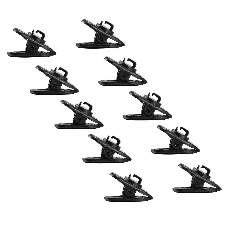 Tinxi 630460001 - Pinza para auriculares (10 unidades), negro: Amazon.es: Electrónica