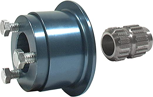Allstar Performance ALL52303 Hex Coupler for 360 Degree Style Steering Wheel Disconnect