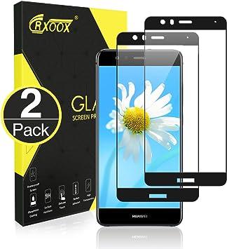 CRXOOX Protector de Cristal Templado para Huawei P10 Lite, 2 ...