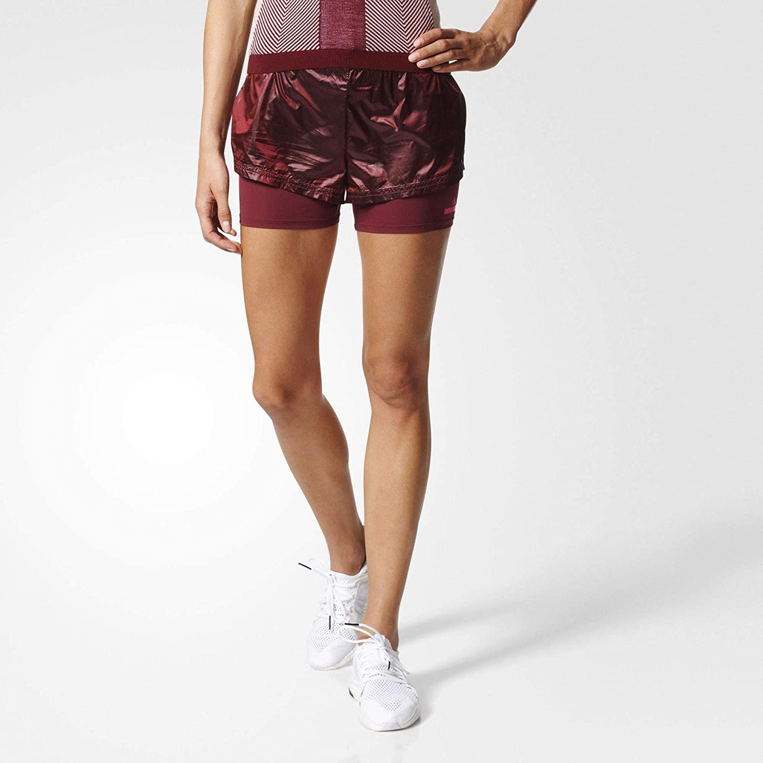 adidas Run 2IN1 Short BP6767 XXS: : Vêtements