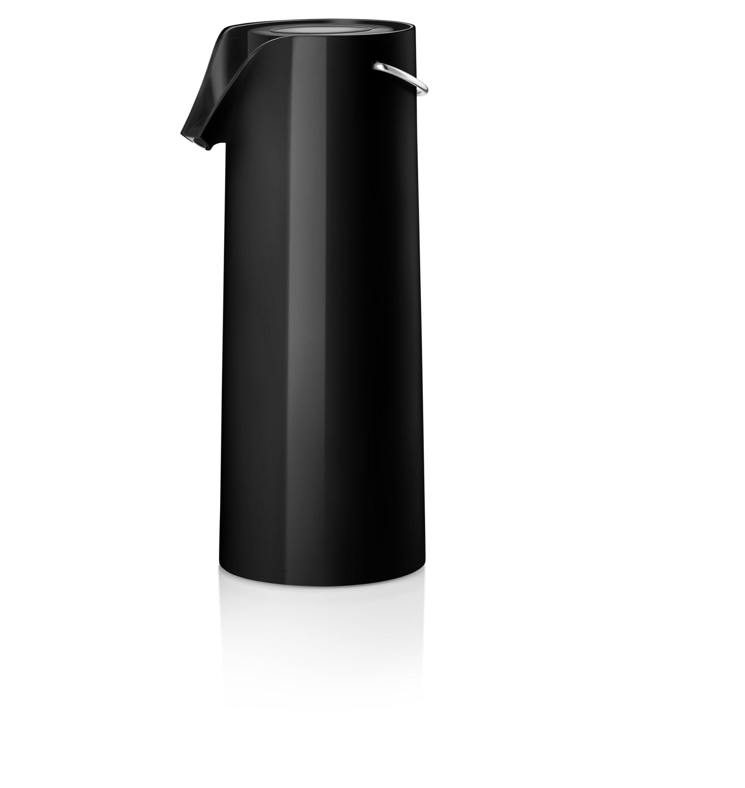 Eva Solo Pump Vacuum Jug, 1.8-Liter, Black