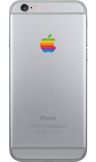 apple iphone 7 logo. gadget beauty apple rainbow logo for iphone 6/6s, 7 - iphone