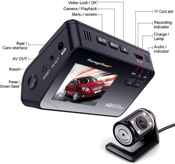 Dash Cam Armaturenbrett Dual Kamera Recorder Mit Hd Elektronik