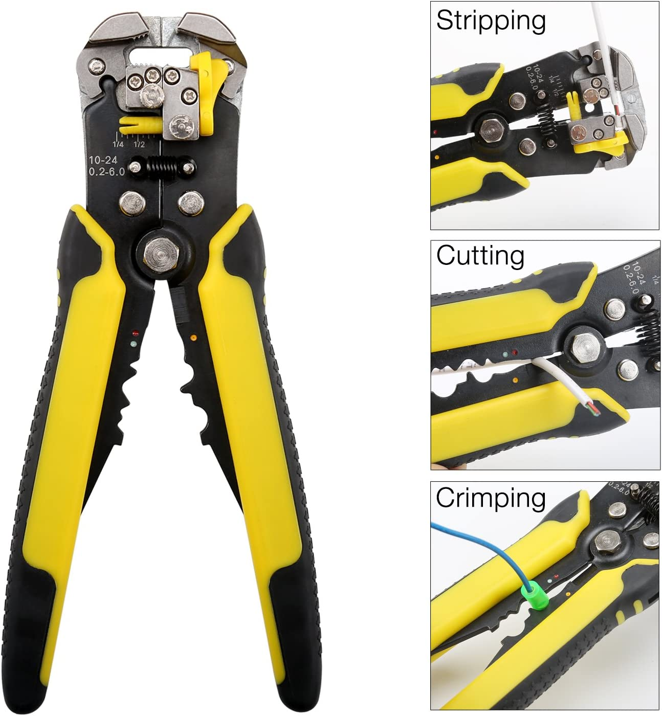 Automatic stripping pliers wire stripper Wire Cable Tools Cable Stripper Pliers