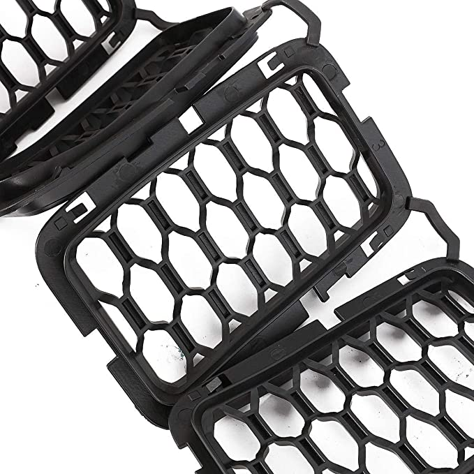 Amazon Com Powlab Mesh Grille Insert Jeep Grille Guard Honeycomb