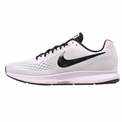 44381602a26b1b Amazon.com: Nike Men's Air Zoom Pegasus 34 TB, White/Black, 10 M US: Shoes