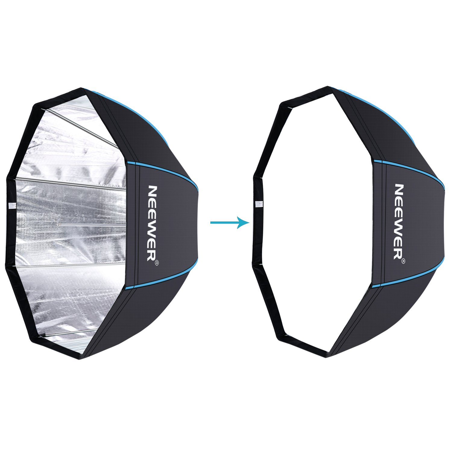 Umbrella Like A Softbox: Neewer 47 Inches/ 120 Centimeters Octagonal Softbox