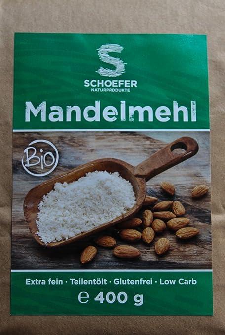 Bio Mandelmehl teilentölt Image